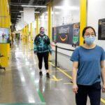 アマゾン、AIなどを活用した3密回避技術を開発 日本の物流拠点に配備
