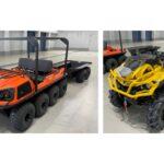 KDDI、水陸両用車・四輪バギーを導入 災害時の通信確保に向け