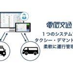 電脳交通、デマンド交通機能を提供開始 ドライバーに順序・ルートを送信