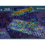 NTTドコモら、屋外・店内でも使える混雑状況測定AIの取り扱い開始