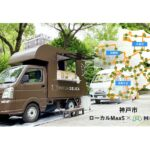 Mellow、神戸市ニュータウンの実証実験にてSHOP STOP展開