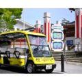 しまなみ海道の島をグリーンスローモビリティが走行 電脳交通らが7月から実証