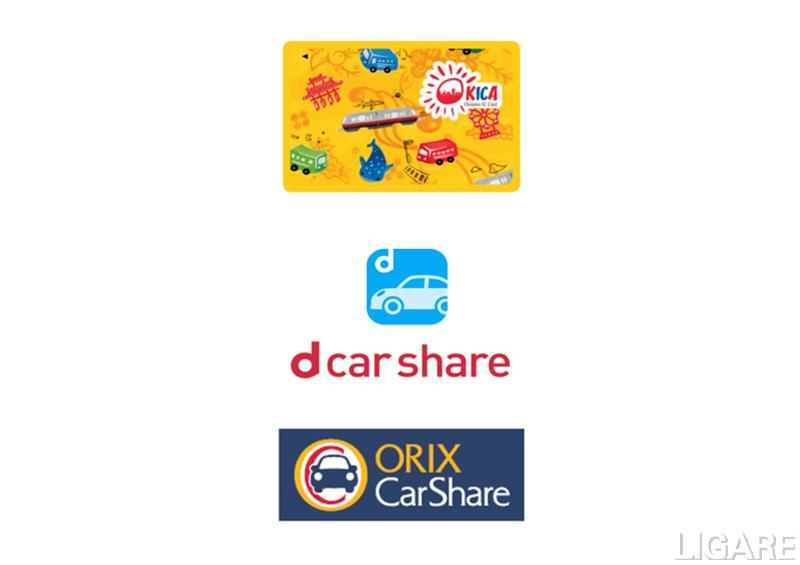 dカーシェア、OKICAと連携