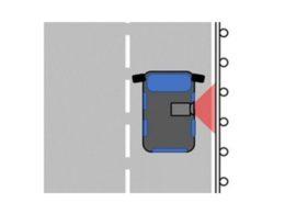 「ガードレール支柱腐食点検システム」の撮影イメージ