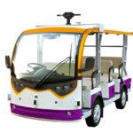 パーセプティンと富士通 自動運転バスの実証実験にクラウド配車サービスを導入、平城宮跡歴史公園で実施