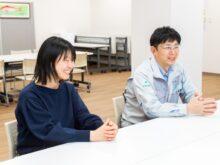 トラバース 人事総務部 次長 久保田亮様(右)、人事総務部 小野塚優子様(左)