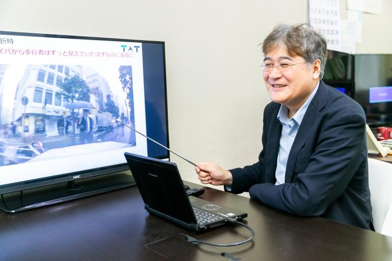 東京農工大学工学府 毛利宏教授