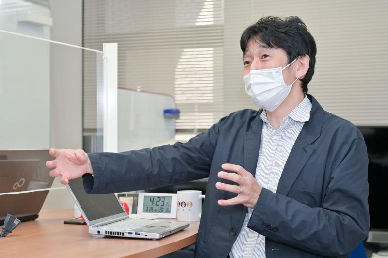 大阪大学 吉川雄一郎准教授