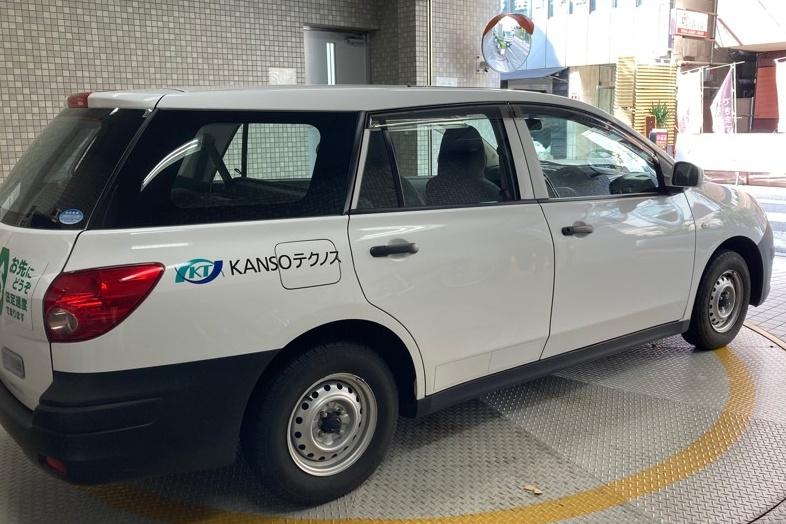 KANSOテクノスが業務に使用している社有車