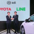 トヨタ、SDLを用いたコネクテッドカーを展示-MaaS着実に前進(CEATEC JAPAN 2018)