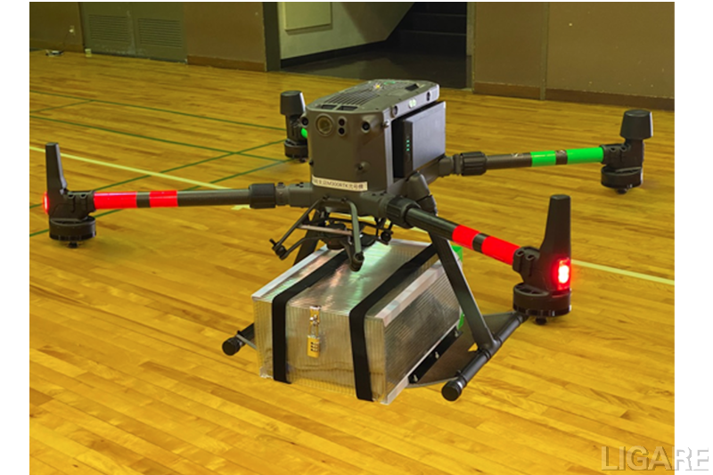 実証実験で使用する機体(DJI M300)