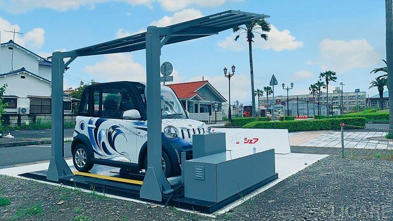 軽量CIS太陽電池付のカーポート