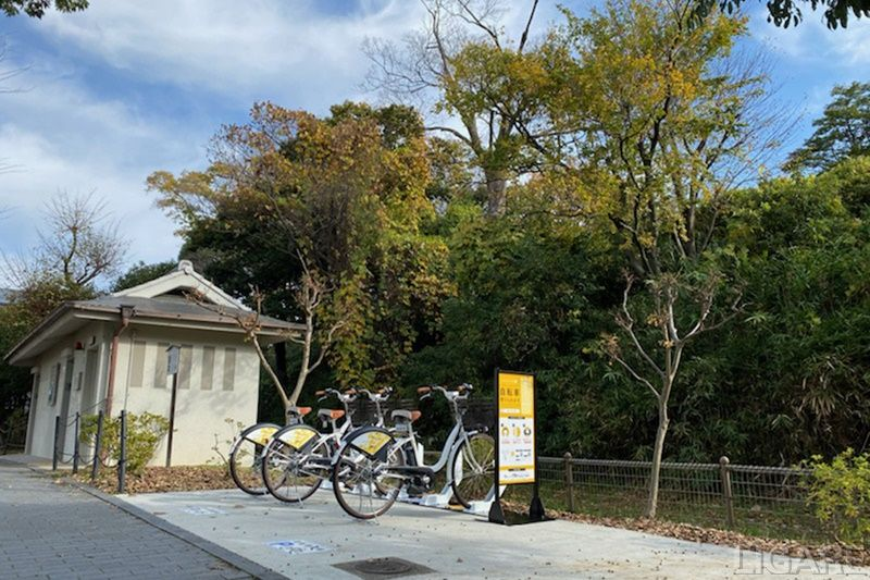 長岡京市シェアサイクル・ポート