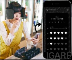 「日本酒観光案内バー」イメージ図