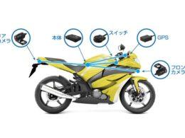 バイク用ドライブレコーダー取付イメージ
