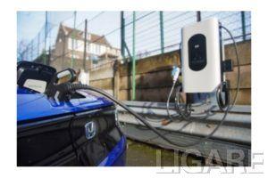 ロンドンに設置された双方向充電器「ソスペソ アンド チャージ」