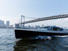 「羽田空港アクセス船」の実証に使用するリムジンボート
