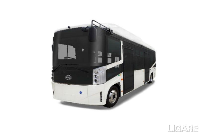 実証に用いる電気バス