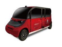 May Mobility社の自動運転車