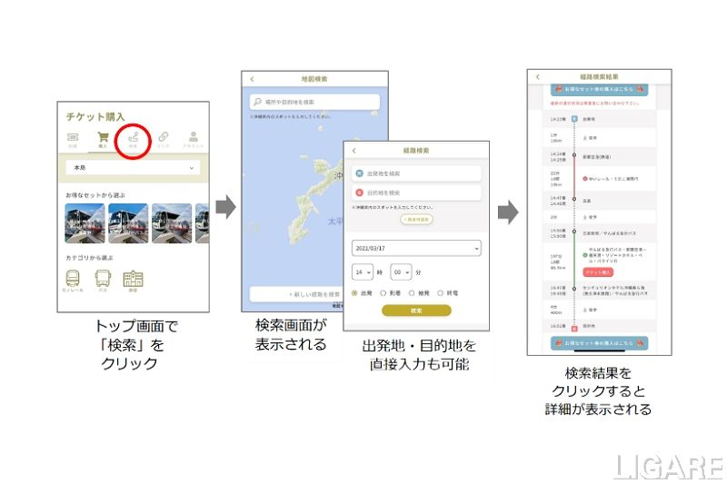 第2フェーズサービスルート検索、地図サービス